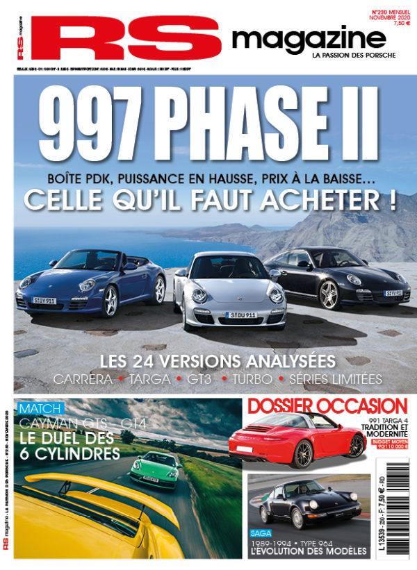 RS, magazine, numéro, 230, porsche, 911