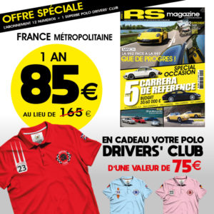 Abonnement-RS-magazine-porsche-911-polo-Drivers-club